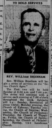 William Branham: Historical Research